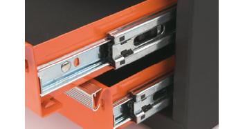 guias dobles reforzadas de carro de herramientas custor